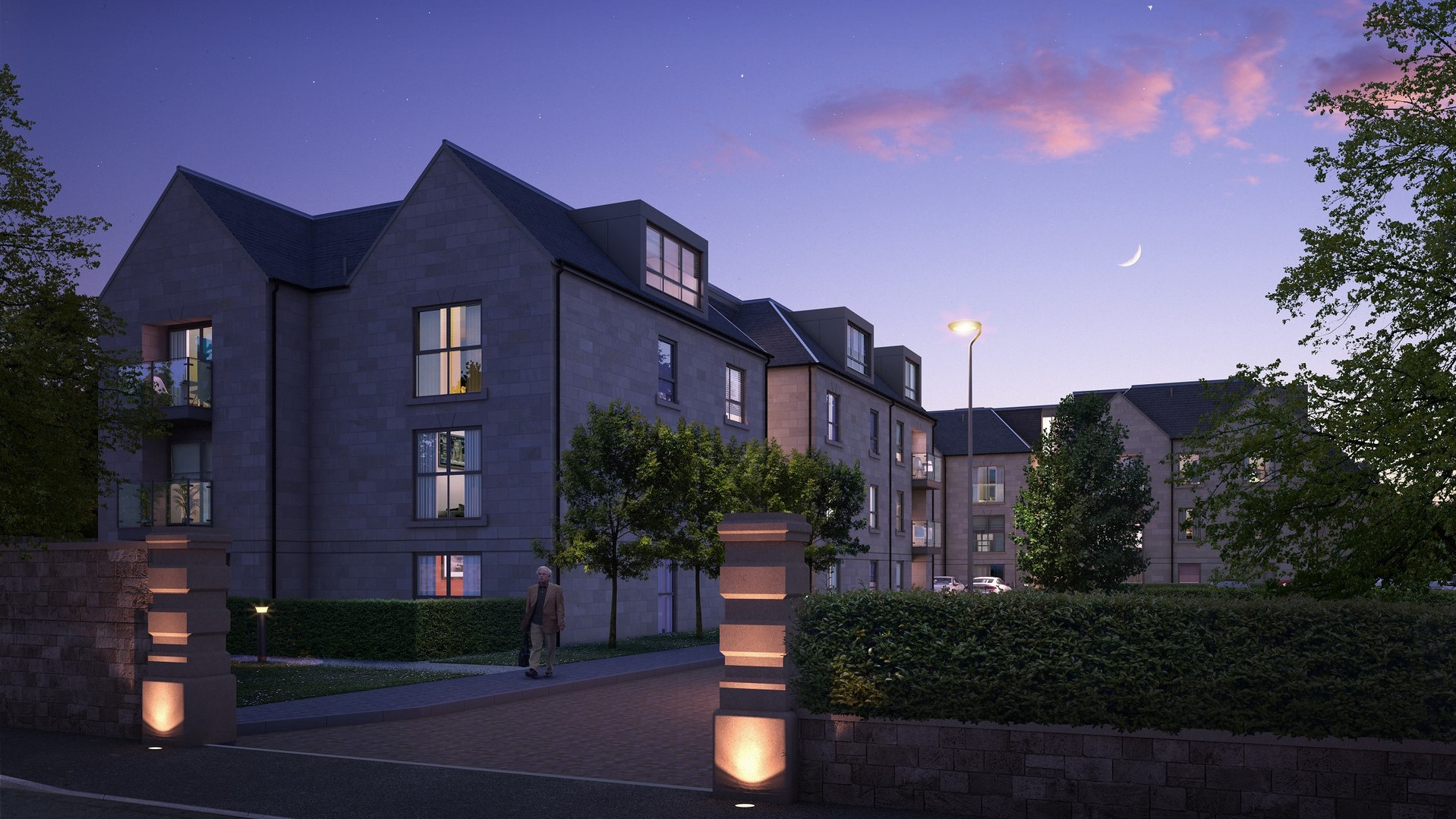 2020 Scottish Home Awards FInalist, Apartments at The Avenues, Glasgow